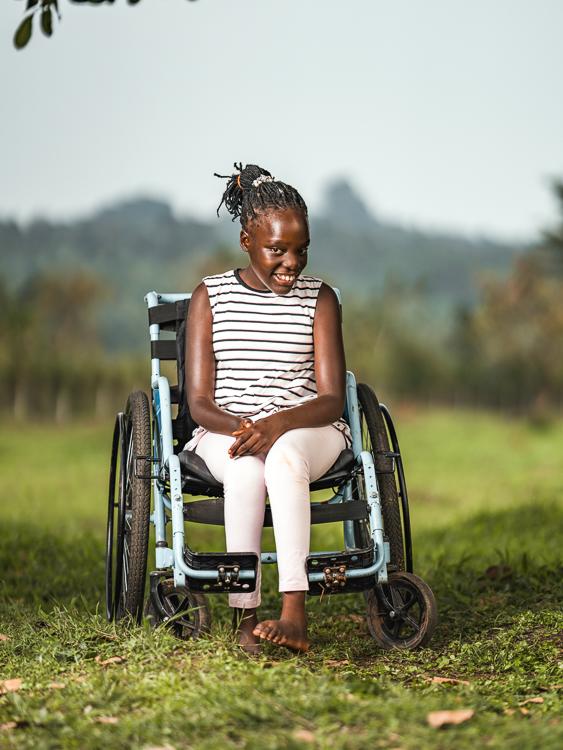 Child Anita Kisakye