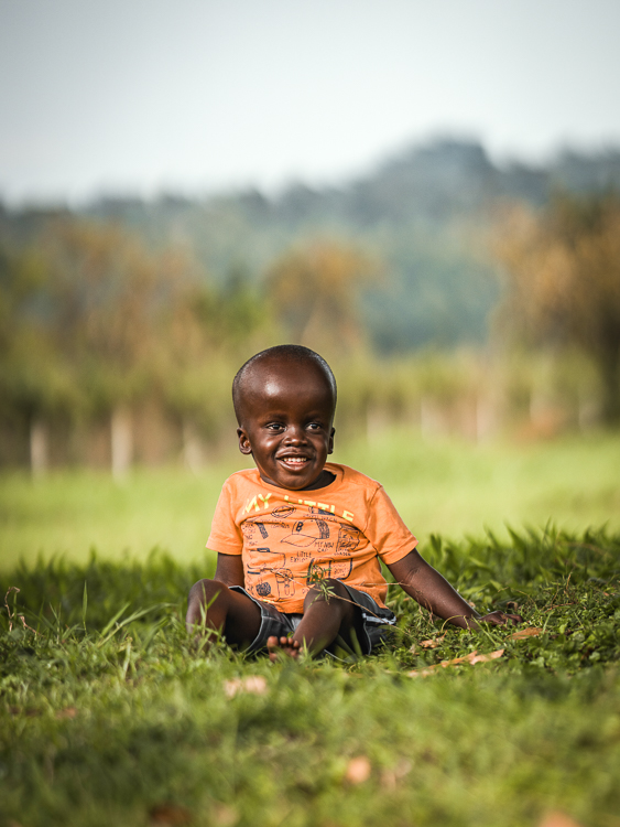 Child Benjamin Kirabo
