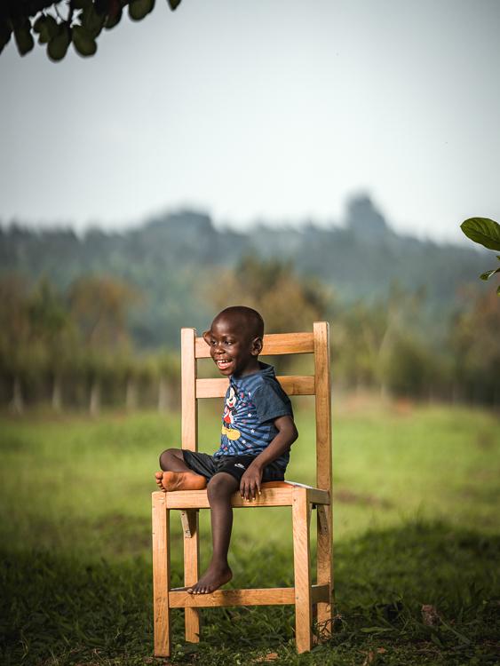 Child Gabriel Mwesige